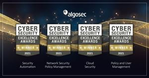 Algosec nhận 04 giải Vàng Cybersecurity Excellence Awards 2021